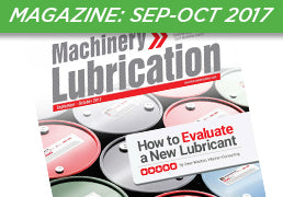 Machinery Lubrication Magazine: September-October 2017