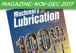 Machinery Lubrication Magazine: November-December 2017