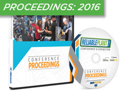 Reliable Plant 2016 Conference Proceedings