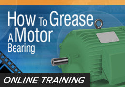 Online Training: How to Grease a Motor Bearing