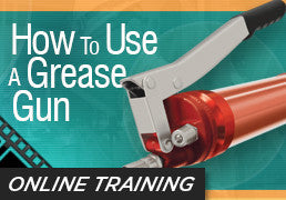 Online Training: How to Use a Grease Gun