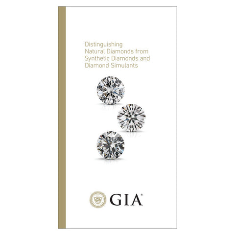 Distinguishing Natural Diamonds from Synthetic Diamonds Brochure