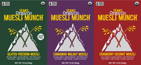 Sean's Muesli Munch New and Improved !