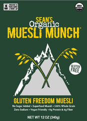Gluten Freedom Muesli - new and improved