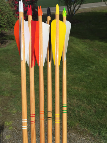 Wood Test Arrows