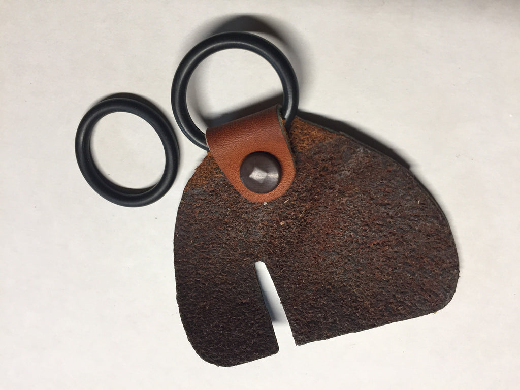 Blacktail finger tab with O ring