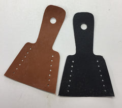 Lace on Leather Bow Tip Protector