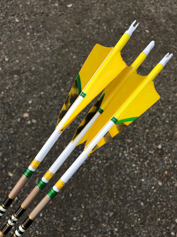 Gold Tip 340 Traditional Classic Arrows.