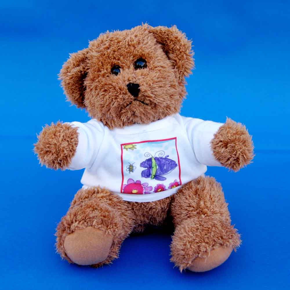 Teddy Bear in Custom Shirt