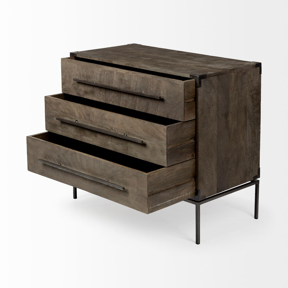 Ward Three Drawer Chest