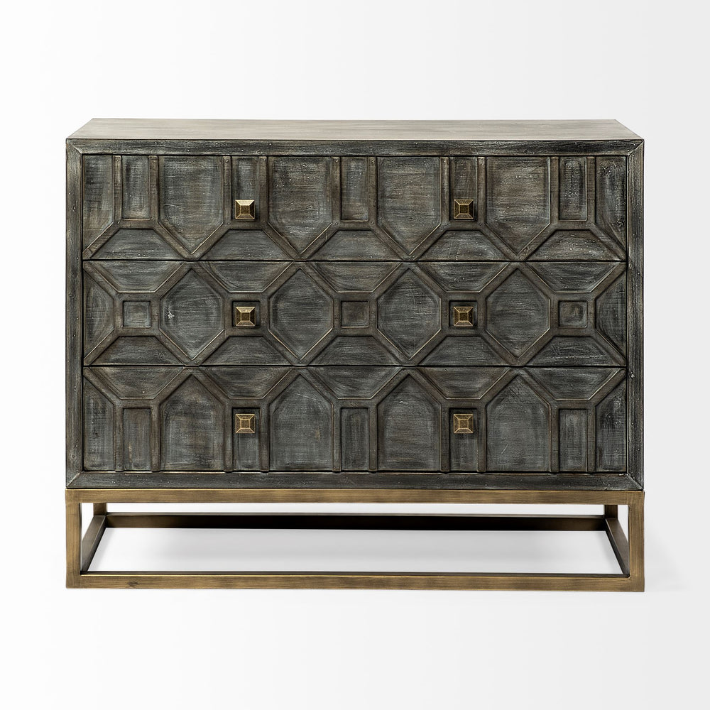 Genevieve Three Drawer Chest