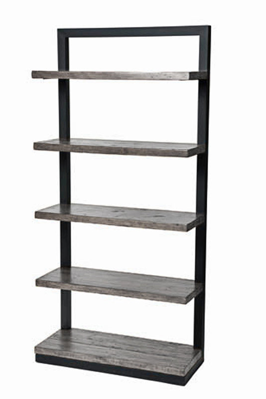 New York Bookcase-Ash Grey