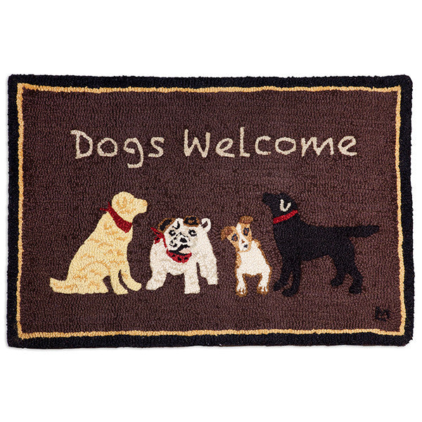 Dogs Welcome Rug