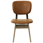 Fraser Dining Chair- Tan Brown