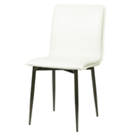 Luca Side Chair- White Fox