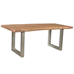 Taj Small Dining Table Natural Finish