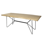 Papillion Dining Table - Blonde Finish