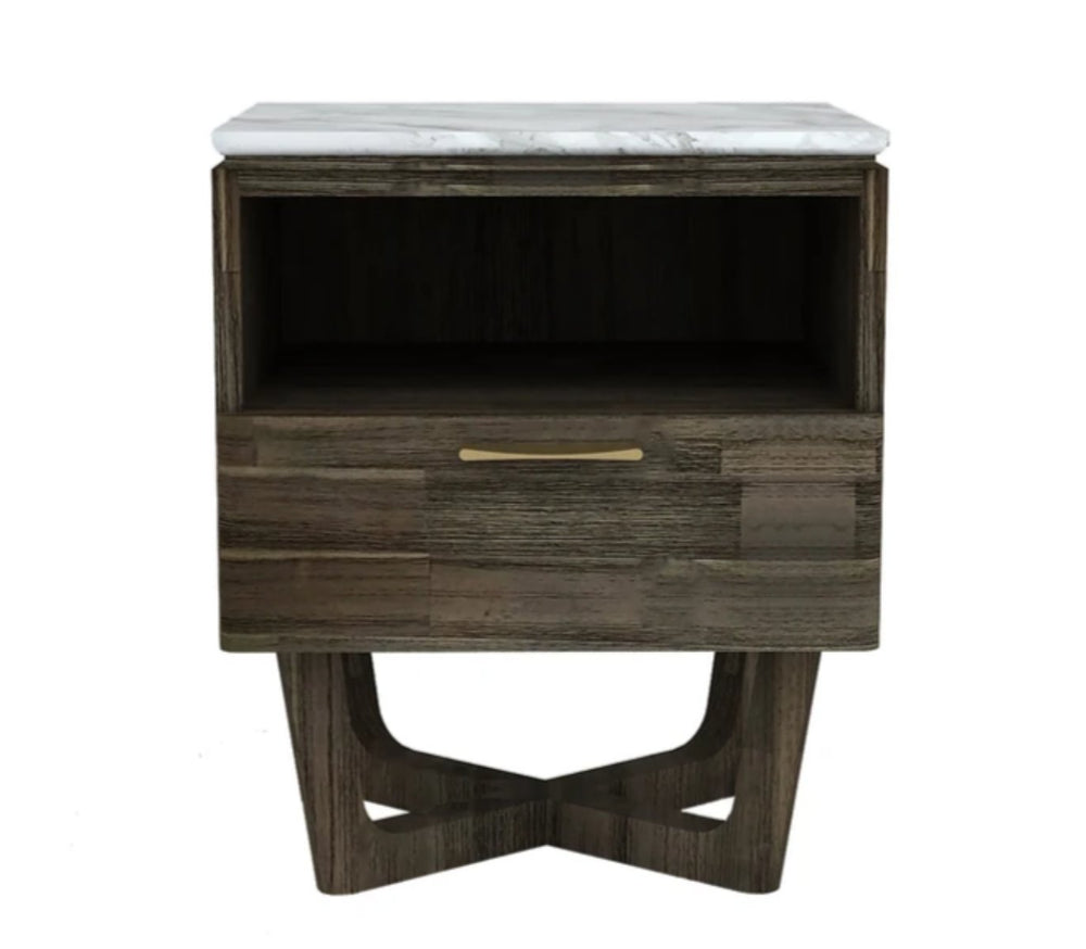 Aura End Table With Drawer