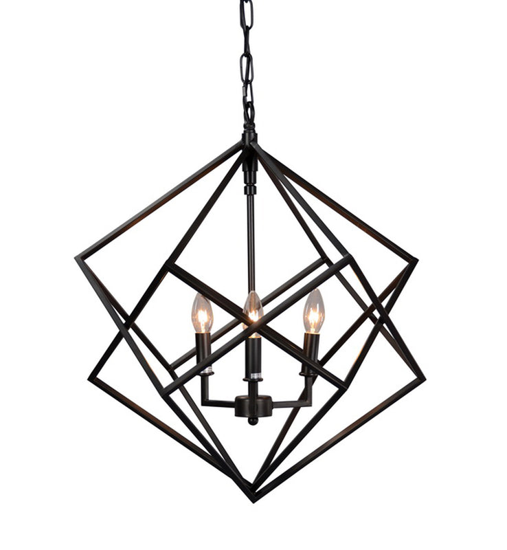 Pendant Chandelier, Black