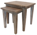 Coast Nesting Tables Sundried Finish