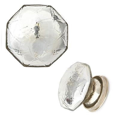 Crystal Glass Door Knob