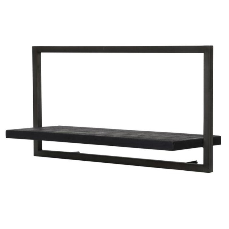 Primitive Collection Metal Frame Wall Box Black (type A)