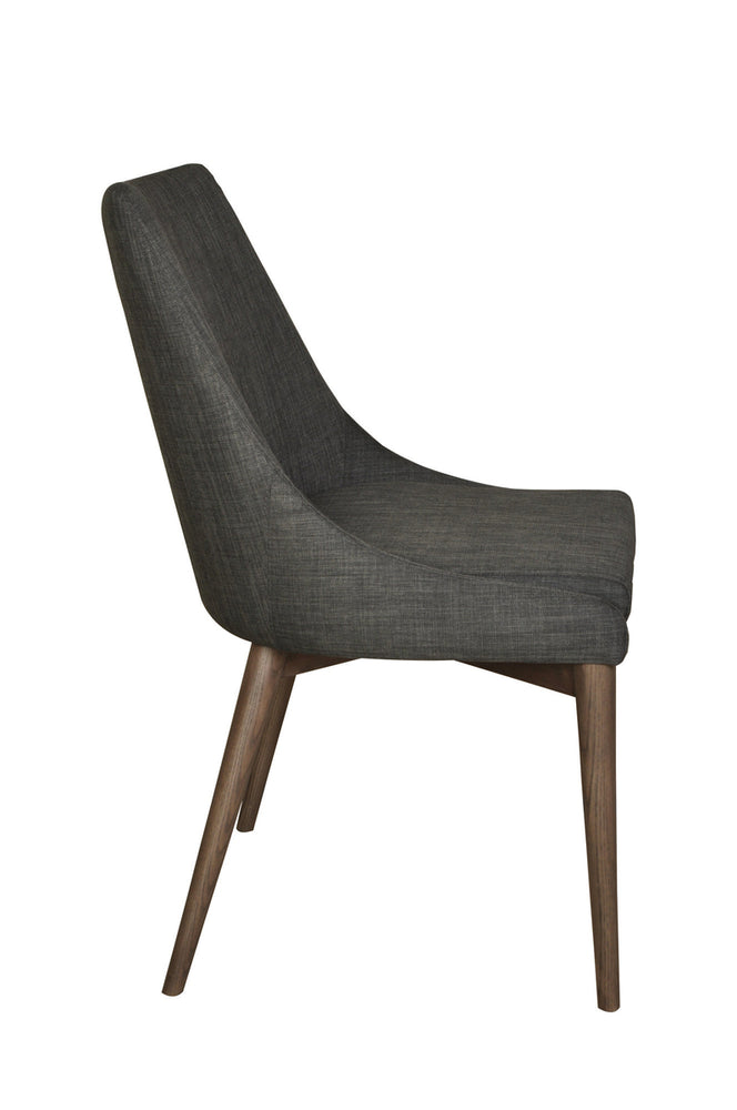 Reid Dining Side Chair- Dark Grey