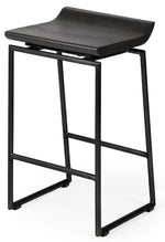 Givens Bar Stool Black Frame