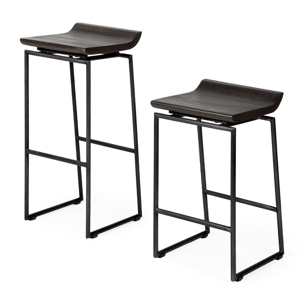 Givens Counter Stool Black Frame
