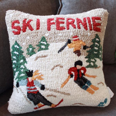 Ski Fernie Pillow