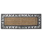Grill Double Doormat with Border