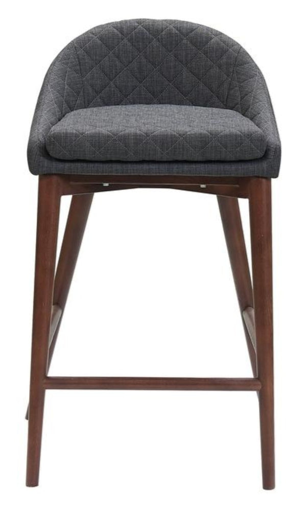 Mila Counter Stool Dark Grey