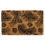 Pinecones & Branches Doormat