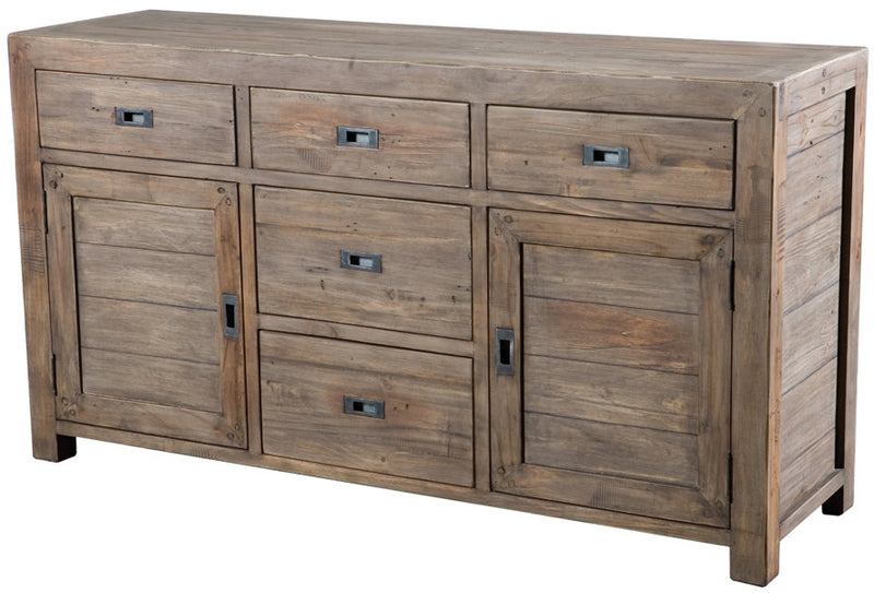 Post & Rail Sideboard- Sundried Finish