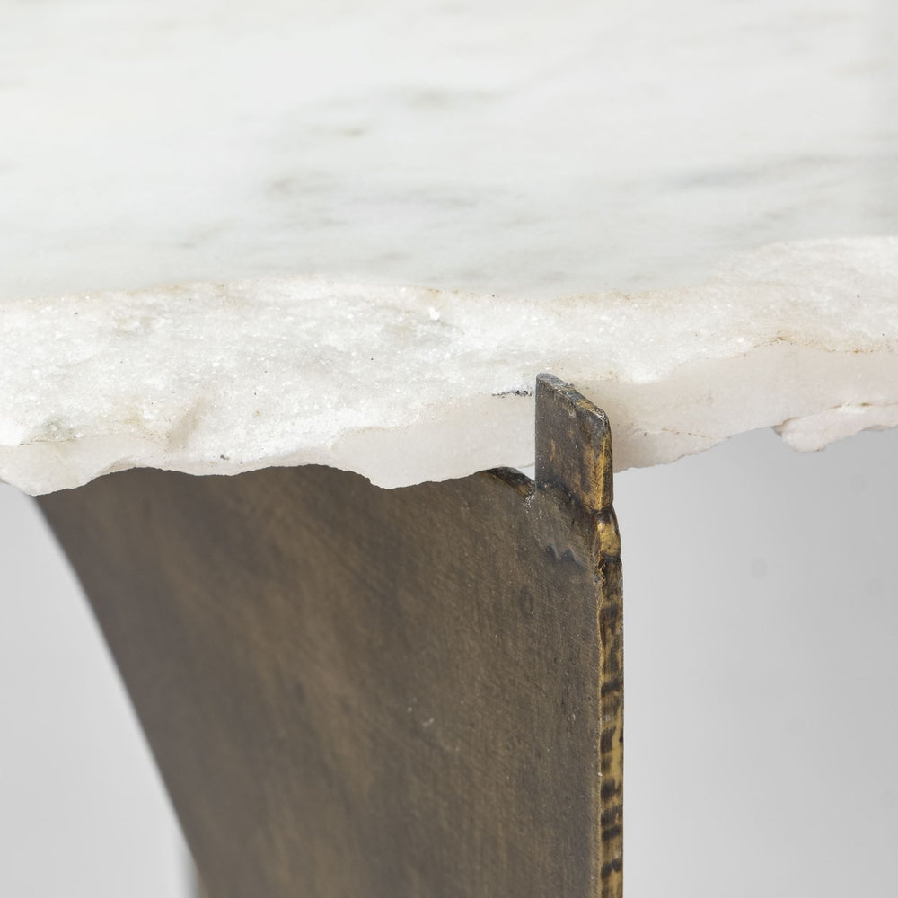 Reinhold Marble End Table
