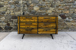 Retro Collection 6 Drawer Dresser