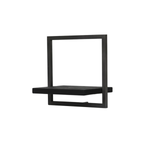 Primitive Collection Metal Frame Wall Box Black (type C)