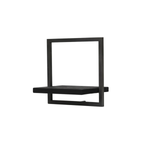 Primitive Collection Metal Frame Wall Box Black (type B)