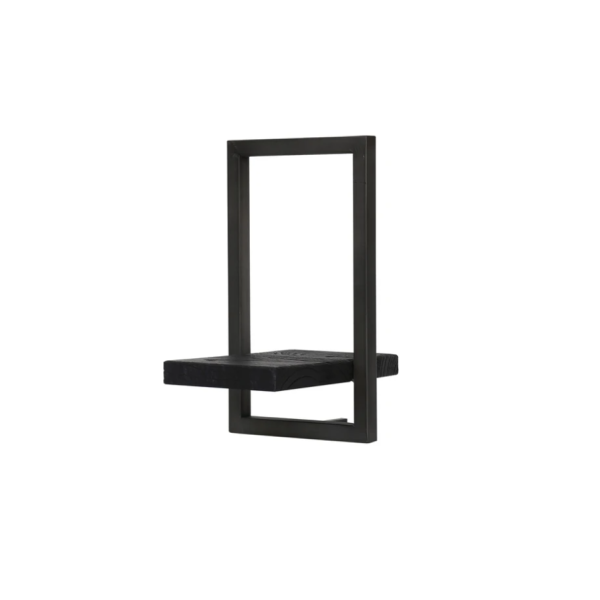 Primitive Collection Metal Frame Wall Box Black (type E)