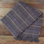 Square Throw Brown/Blue