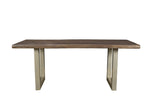Taj Dining Table - Grey Finish