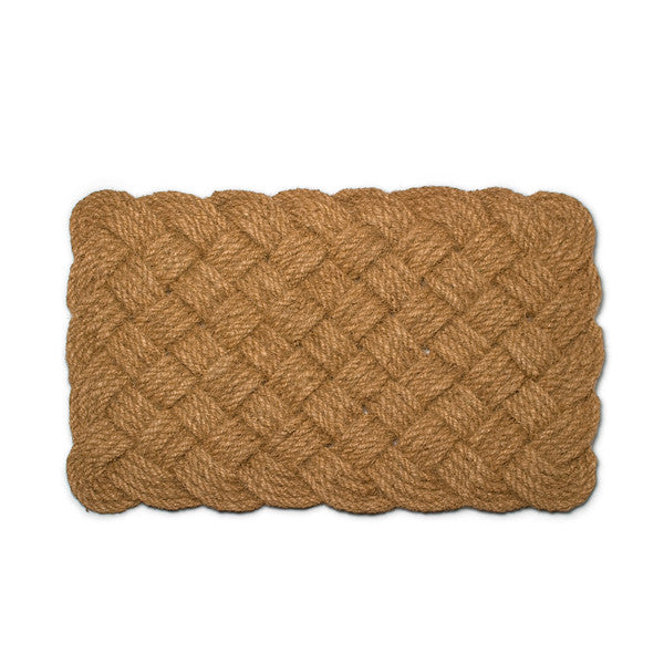 Natural Woven Rope Doormat