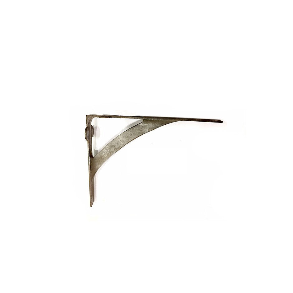 Avant Shelf Bracket, Aged Metal Patina.