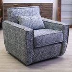 Madrid Swivel Chair Mystic Azure