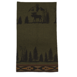 Moose I Wool Blanket