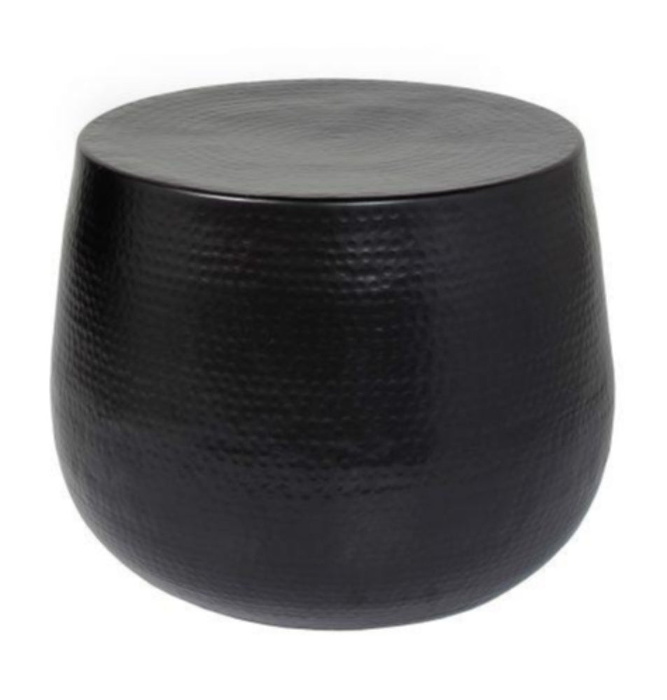 Nordic Accent Table-Matte Black
