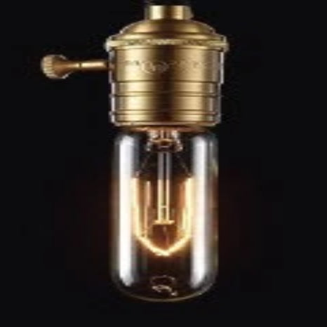 Small Torpedo Edison Light Bulb (T10) 40W