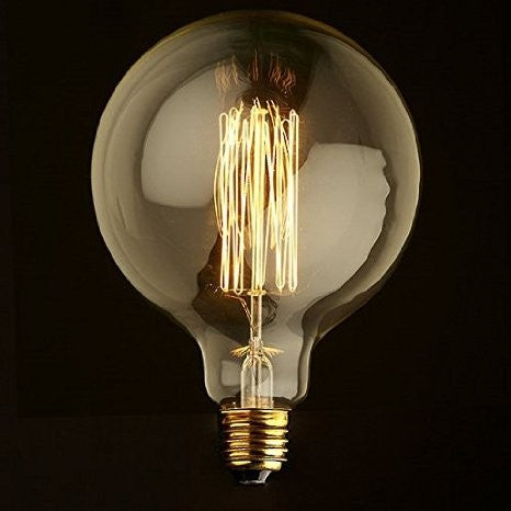 Globe Edison Light Bulb 40W