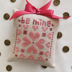 Be Mine Cross Stitch Pattern (PDF Download)