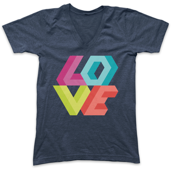 Love Triangle Tee
